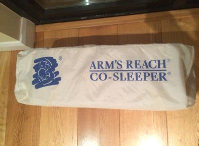 Universal Co Sleeper by Arms Reach Universal Co Sleeper With Accessories For Sale