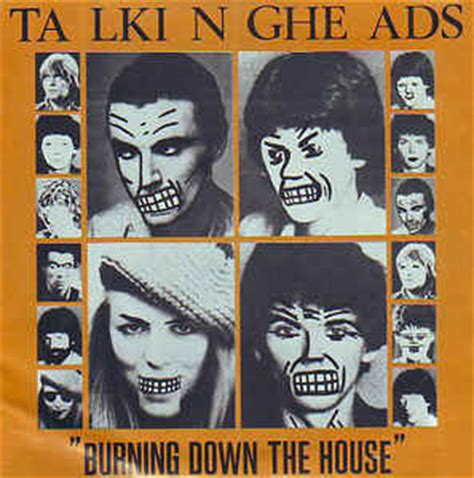burning down the house talking heads talking heads burning down the house vinyl at discogs