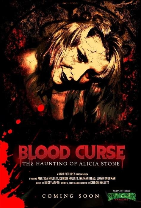 Blood Curse new images released for paranormal blood curse and