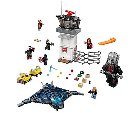 Lego Airport Battle 76051 airport battle 76051 marvel heroes
