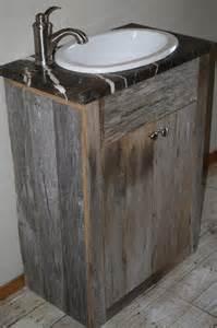 Custom 24 Inch Vanity Your Custom Rustic Small 24 Inch Barn Wood Vanity Or Cabinet