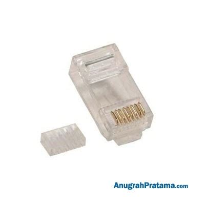 Konektor Rj45 Cat 6 belden konektor rj45 cat 6 isi 50 pcs connector