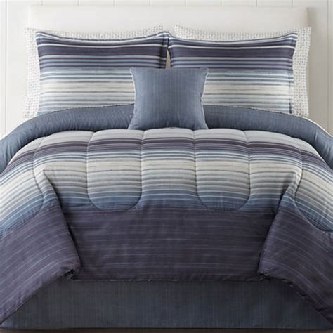 studio hudson reversible bedding set jcpenney
