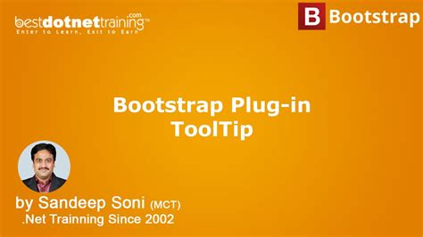 bootstrap tutorial in telugu bootstrap tutorial bootstrap plug in tool tips