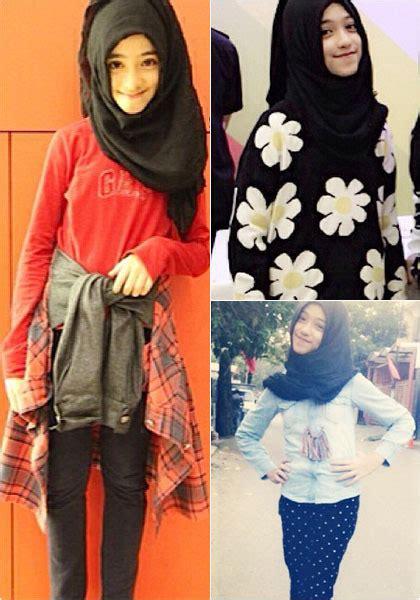tutorial hijab trend anak smp hijab style gaya stylish shireeenz remaja yang populer
