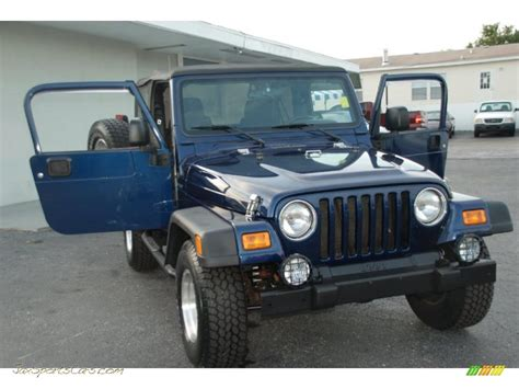 patriot blue jeep wrangler 2004 jeep wrangler sport 4x4 in patriot blue pearl photo