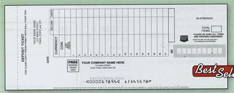 carbonless deposit ticket books quick scan custom forms china wholesale forms page 6