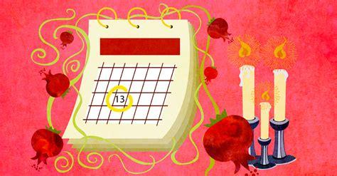 rosh hashanah  calendar rosh hashanah  observancesin calendar format high holidays