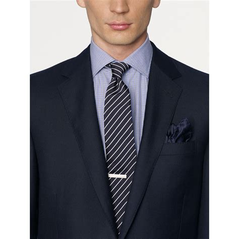 Anthony Navy Sweater Rajut Gk ralph black label anthony sport coat in blue for lyst