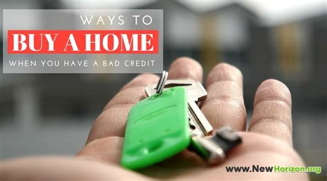 i have bad credit how can i buy a house understanding and improving your credit