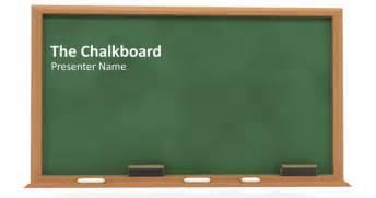 Free Chalkboard Powerpoint Template by Chalkboard Powerpoint Template Out Of Darkness