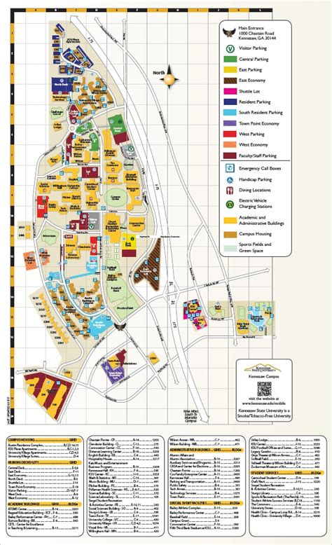 ksu map kennesaw state department of parking and transportation