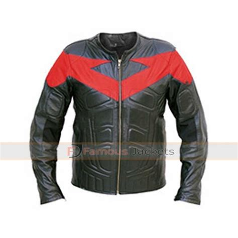 motorbike jackets for sale nightwing leather motorcycle jacket costume for sale