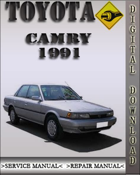 toyota camry 1987 1991 service repair manual by hong lii issuu pay for 1991 toyota camry factory service repair manual