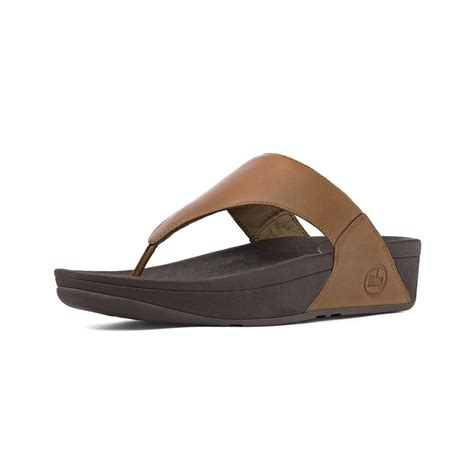 lulus sandals fitflop fitflop lulu toe post sandal in soft toffee