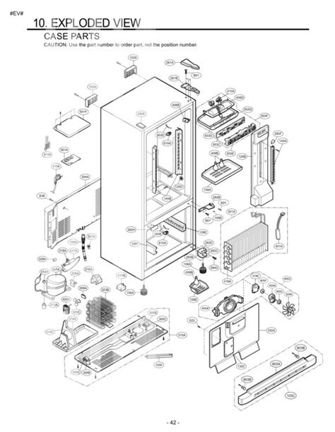 Lg Refrigerator Parts Diagram