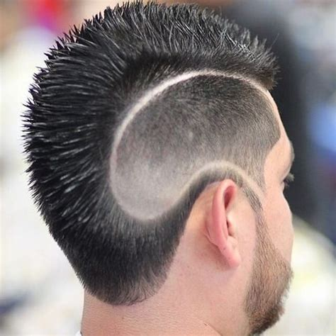mohawk shaved designs image gallery mohawk haircut designs