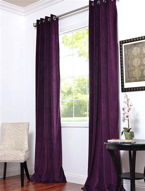 eggplant colored curtains eggplant curtains window treatments bridal shower www