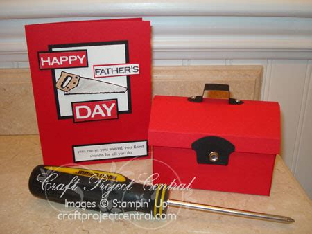 Tool Box Gift Card Holder - father s day tool box gift card holder card stinwithjacque com