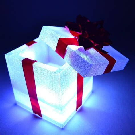 Everly Home Gift Unique Gifts Gadget Style Light Up Boxes