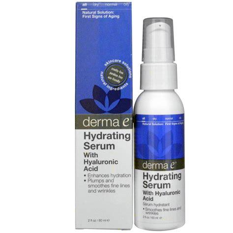 Hyalumoist Serum derma e hydrating serum with hyaluronic acid 2 fl oz 60 ml iherb