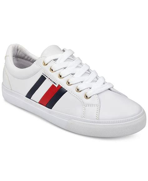 tommy hilfiger womens lightz lace  fashion sneakers