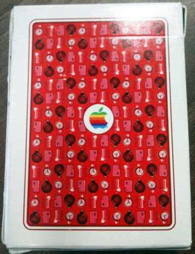 Apple Gift Card Ebay - guy sells official apple computer playing cards on ebay