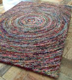 how to make a hooked rag rug images