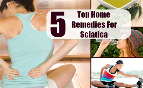 top 5 home remedies for sciatica treatments