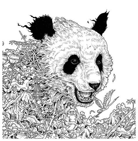 libro imagimorphia 17 mejores ideas sobre coloriage panda en coloriage chinois poupee chinoise y