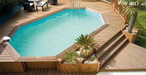 piscine fuori terra rivestite in legno piscine fuori terra in legno odyssea il top di gamma