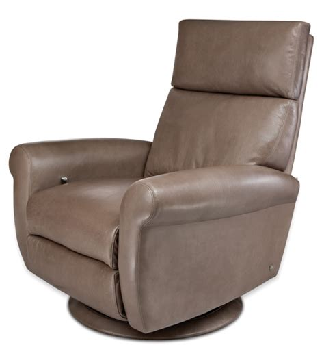 Leather Swivel Recliners by Brayden Comfort Recliner By American Leather