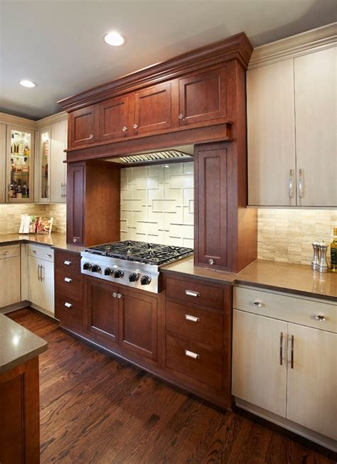 cherry cabinets with gray countertops cherry kitchen floors design ideas