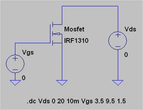 mosfet transistor ltspice ltspice iv