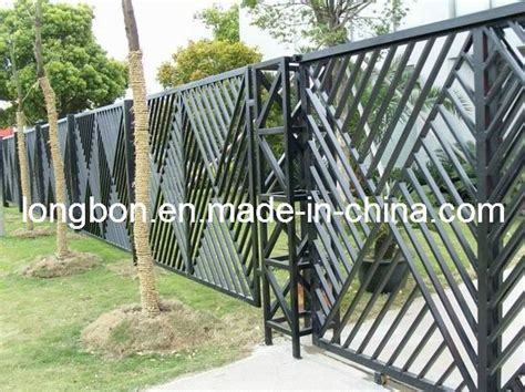 Iron Fences Wrought Iron Fences And Fence Design On Pinterest Metal Garden Fencing Ideas