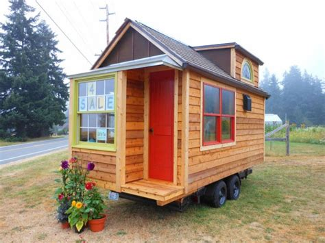 tiny houses on wheels for sale the mighty micro house on wheels for sale for 38k tiny