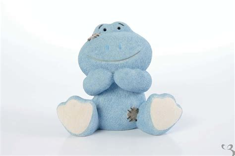 my blue my blue nose friends the frog figurine