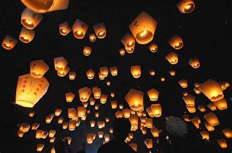 new year peace lantern festival lantern festivals in asia sfgate