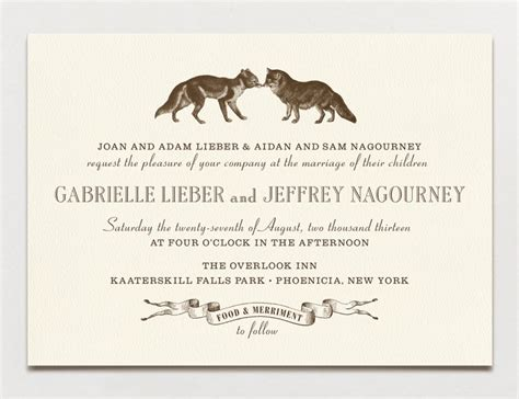 Wedding Invitation Text by Wedding Invitation Wording Formal Modern A