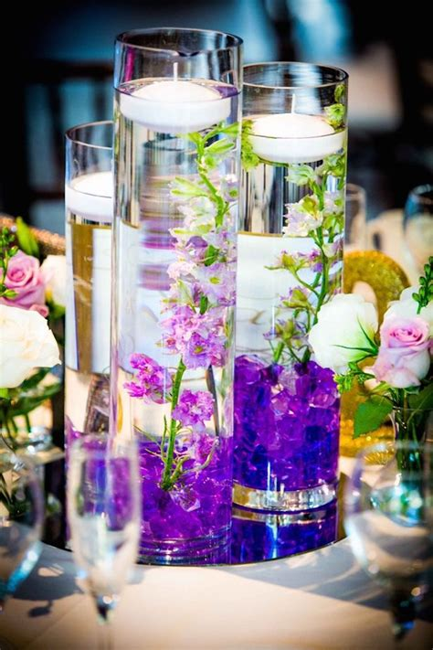 Lilac And Purple Wedding Decorations by 17 Best Ideas About Mirror Wedding Centerpieces On