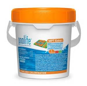 Chlorine for pools