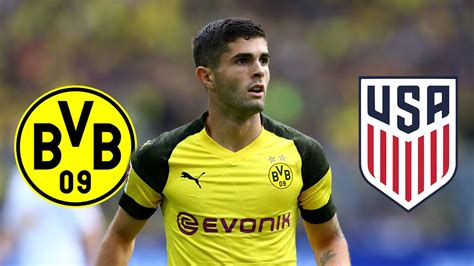 christian pulisic foot christian pulisic pourrait quitter dortmund mercato foot