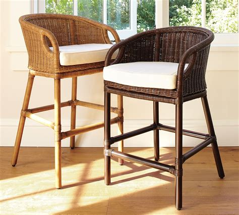 Bistro Style Counter Stools by Bistro Bar Stool Re Style Wicker Counter Stools