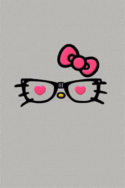 hello kitty mustache wallpaper hello kitty nerd backgrounds www pixshark com images