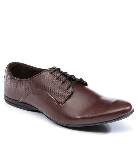 brown formal shoes buy provogue brown colour formal shoes for snapdeal