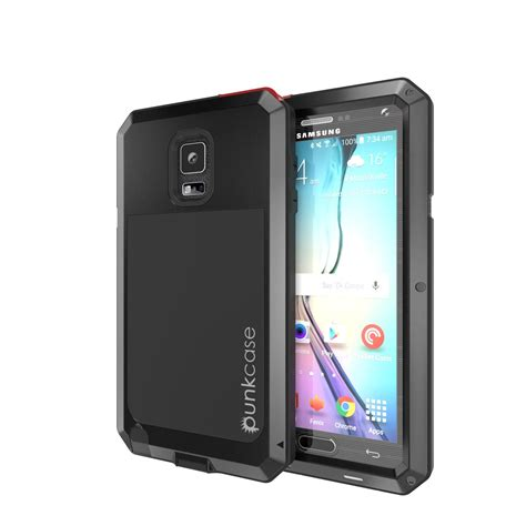 Samsung Note 4 Tempered Glass Shock Proof 03mm galaxy note 4 in metallic black shock proof punkcase