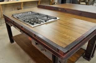 industrial kitchen islands industrial kitchen island vintage industrial furniture