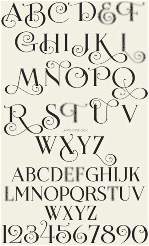 design font elegant 160 best calligraphy numbers images on pinterest
