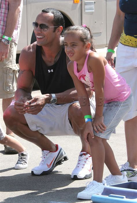 dwayne the rock johnson kid dwayne johnson is whipped by his daughter moms babies