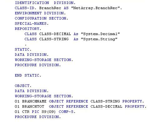 Cobol Program Divisions Newsindustriesxg Over Blog Com